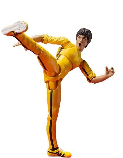 Action Figure Bruce Lee Jogo da Morte - Cinema Geek