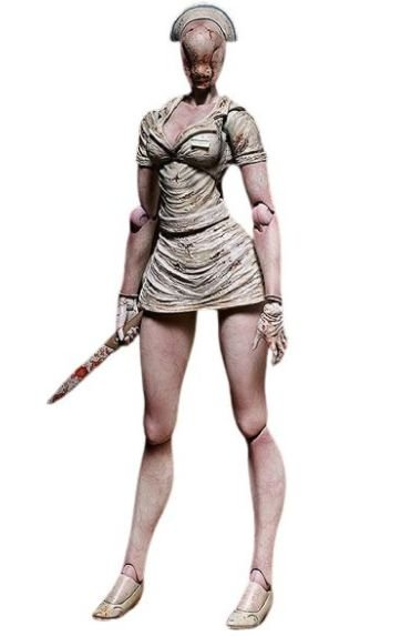 Action Figure Bubble Head Nurse - Silent Hill 2