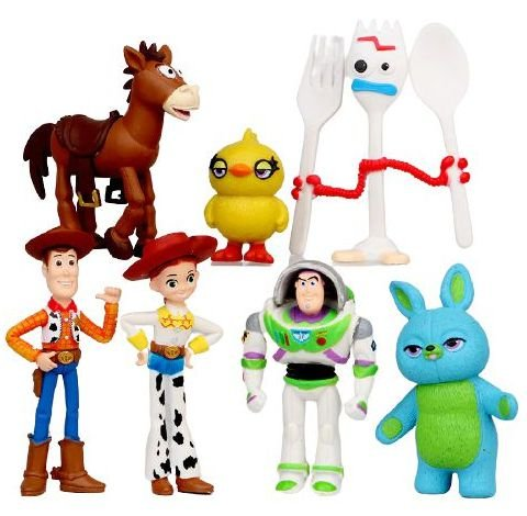 Pack com 07 Figures Toy Story Pixar - Cinema Geek