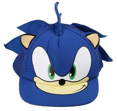 Boné Chapéu Ajustável - Sonic The Hedgehog