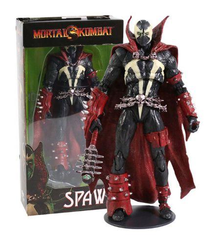 Action Figure Spawn Versão Mortal Kombat Articulado - Games Geek
