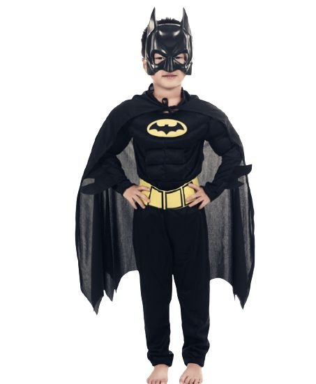 Fantasia Batman - Cosplay Infantil
