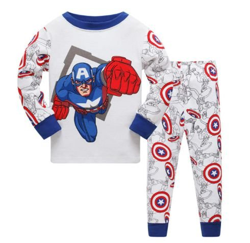 Pijama Capitão América Infantil
