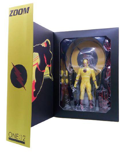 Action Figure Professor Zoom Heroes Reverse Totalmente Articulado - Mezco