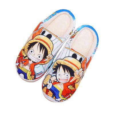 Pantufa Geek Kawaii Monkey D. Luffy - One Piece