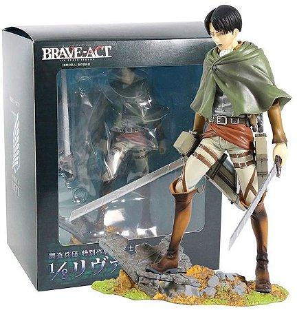 Figure Levi Attack On Titan 1/8 - Animes Geek