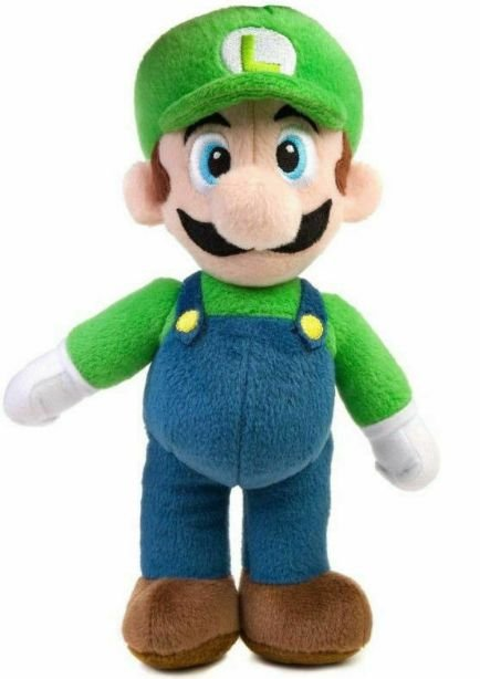 Pelúcia Luigi 20 Cm - Mário Bros