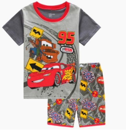 Pijama Curto Carros Infantil
