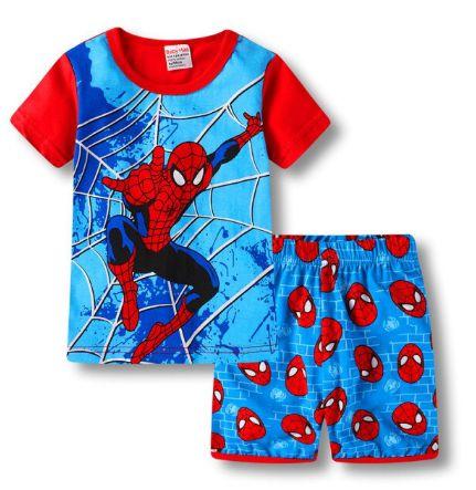 Pijama Curto Homem Aranha Ver. 2 Infantil