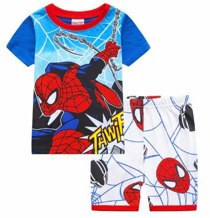 Pijama Curto Homem Aranha Ver. 4 Infantil