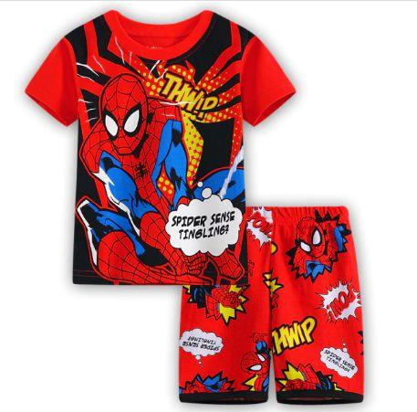 Pijama Curto Homem Aranha Ver. 6 Infantil