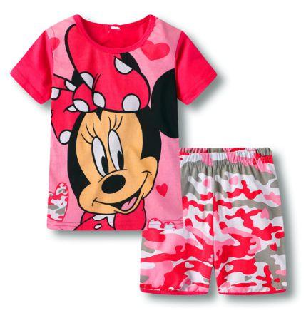 Pijama Curto Minnie Infantil