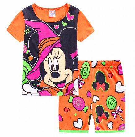 Pijama Curto Minnie Ver. 2 Infantil