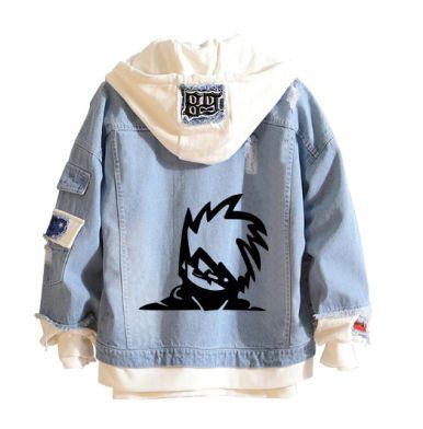 Jaqueta Jeans Hatake Kakashi - Naruto