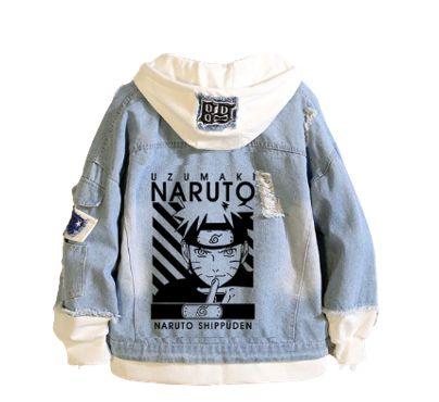 Jaqueta Jeans Uzumaki Naruto - Naruto Shippuden
