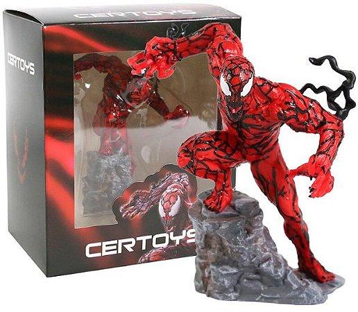 Estátua Carnage 14 Cm Certoys Marvel