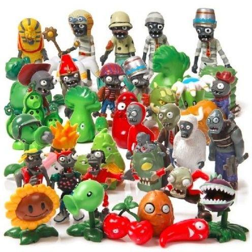 Plants Vs Zombies Kit com 40 Personagens - Plantas vs Zumbis