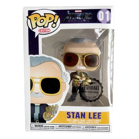 Funko Stan Lee Manopla do Infinito Thanos Marvel 01 - Funko Pop