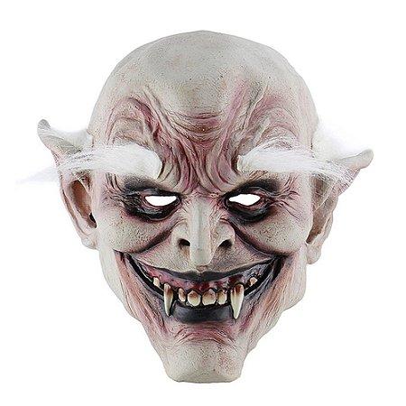 Máscara Vampiro Demônio Látex- Fantasias