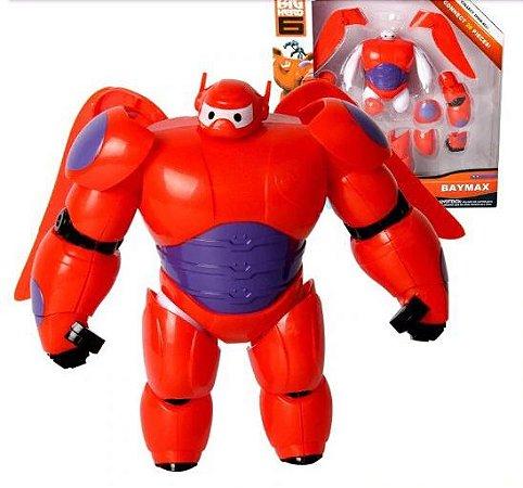Boneco Baymax Action Figure Articulada Operação Big Hero Disney