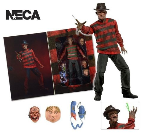 Freddy Krueger Action Figure Nightmare On Elm Street - Neca