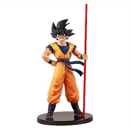Boneco Goku Action Figure Dragon Ball Banpresto 20th Edição Limitada