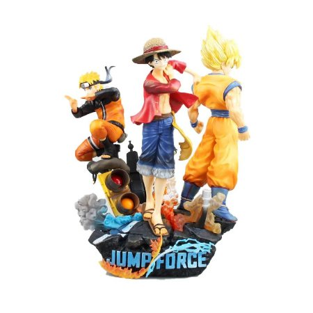 Diorama Jump Force Dragon Ball One Piece Naruto 28 Cm