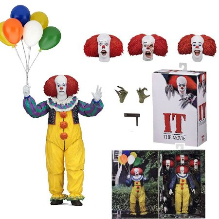 Action Figure Pennywise 1986 It A Coisa Stephen King Neca
