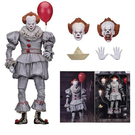 Pennywise Action Figure It A Coisa Stephen King Neca