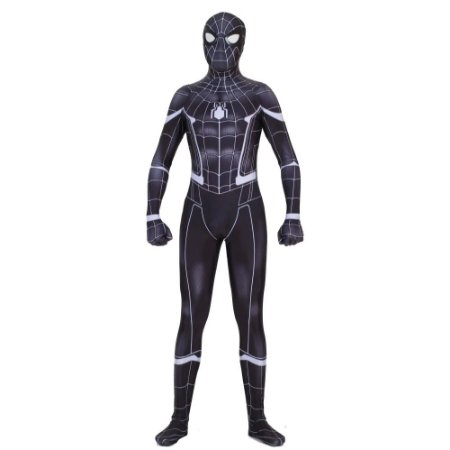 Fantasia Cosplay Homem Aranha Adulto - Super Heróis