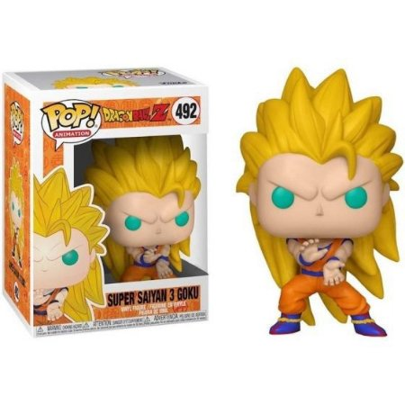 Funko Dragon Ball Z 492 Goku Super Saiyajin 3  - Funko Pop
