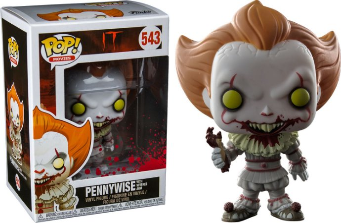 Funko It A Coisa 543 Pennywise With Severed Arm - Funko Pop