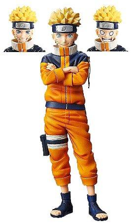 Naruto Uzumaki Figure Shinobi Relations 25 cm - Naruto Clássico