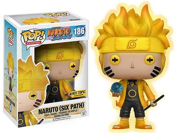Funko Naruto Shippuden 186 Naruto Seis Caminhos - Funko Pop