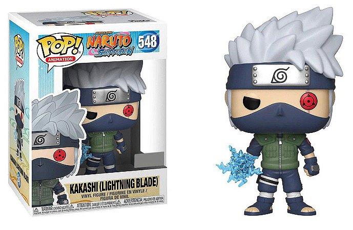 Funko Naruto Shippuden 548 Kakashi Lightning Blade - Funko Pop