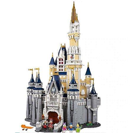 Castelo Cinderela com 4080 peças - Blocos de Montar