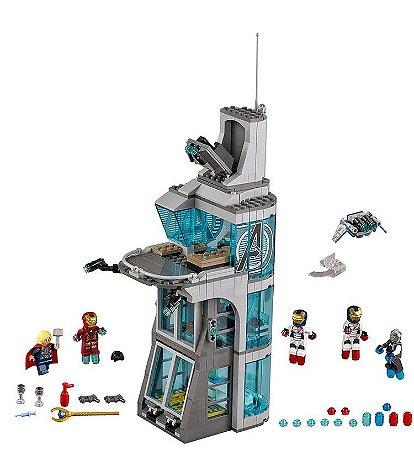 Blocos Vingadores 511 peças Ataque a Torre Avengers - Marvel