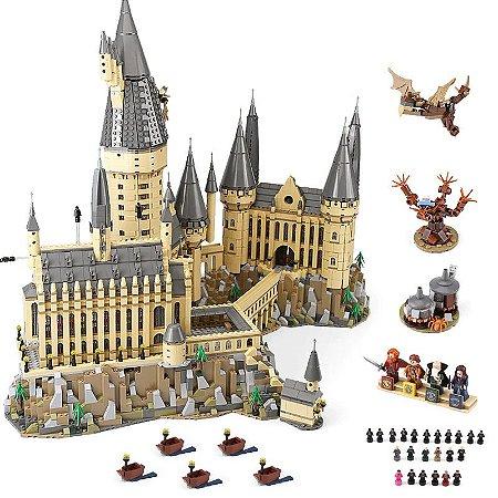 Castelo de Hogwarts Harry Potter com 6020 Peças - Blocos de montar