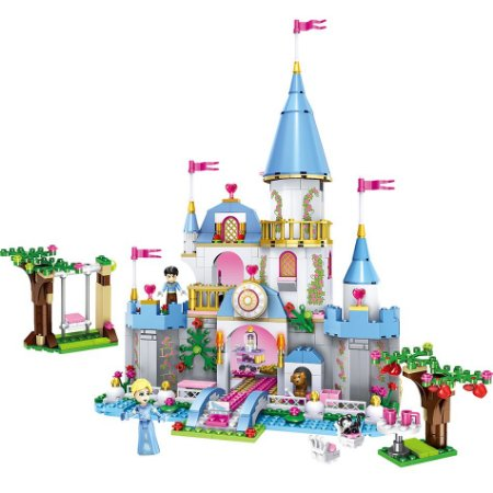 Castelo Arendelle Frozen Disney 669 peças - Blocos de montar