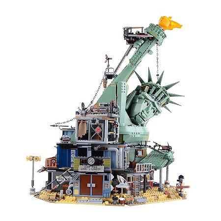 Lego O Filme Welcome to Apocalypseburg com 3560 peças - Blocos de montar