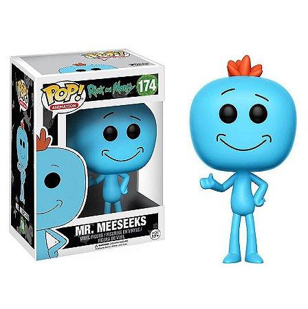 Funko Rick And Morty 174 Mr. Meeseeks - Funko Pop