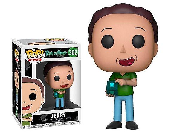 Funko Rick And Morty 302 Jerry - Funko Pop
