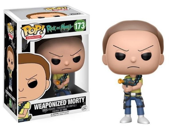 Funko Rick And Morty 173 Weaponized Morty - Funko Pop