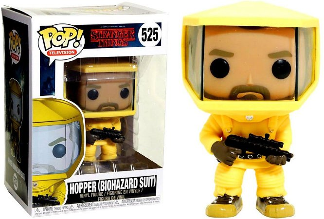 Funko Pop Stranger Things 525 Hopper Biohazard Suit - Funko Pop