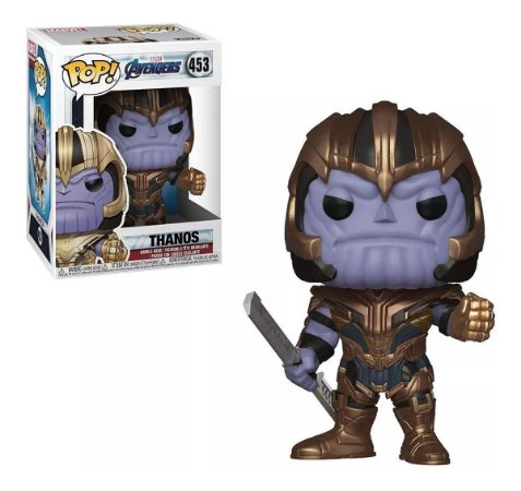 Funko Pop Vingadores Ultimato 453 Thanos - Funko Pop