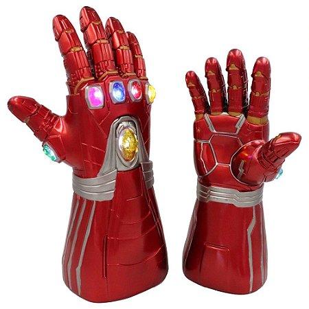 Manopla do Infinito Homem de Ferro Com LED Vingadores - Marvel