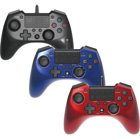 Controle Hori Pad FPS Plus Ps4 Ps3 Original Japão Hori - Geek Games
