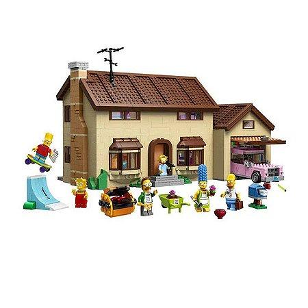 A Casa dos Simpsons The Simpsons House 2575 peças + 06 Personagens