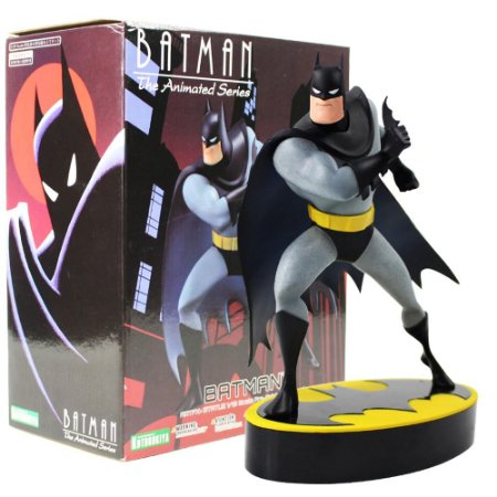 Estátua Colecionável Batman Série Animada 20 Cm - Dc Comics