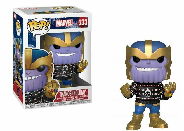 Funko Pop Marvel 533 Thanos Holiday - Funko Pop
